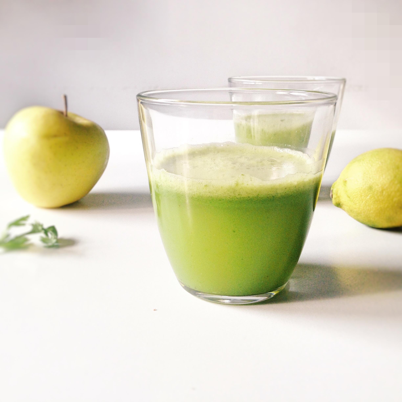 smoothie detox pomme citron)