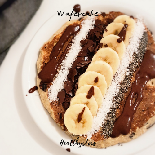 Wafercake: entre la Galette aux flocons d'avoine et le Pancake