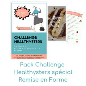 Pack Challenge Remise en Forme