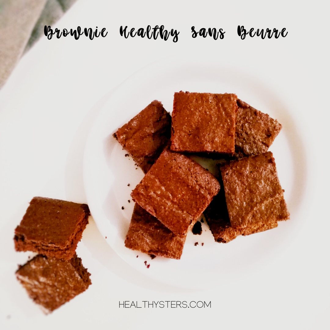 brownie healthy sans beurre