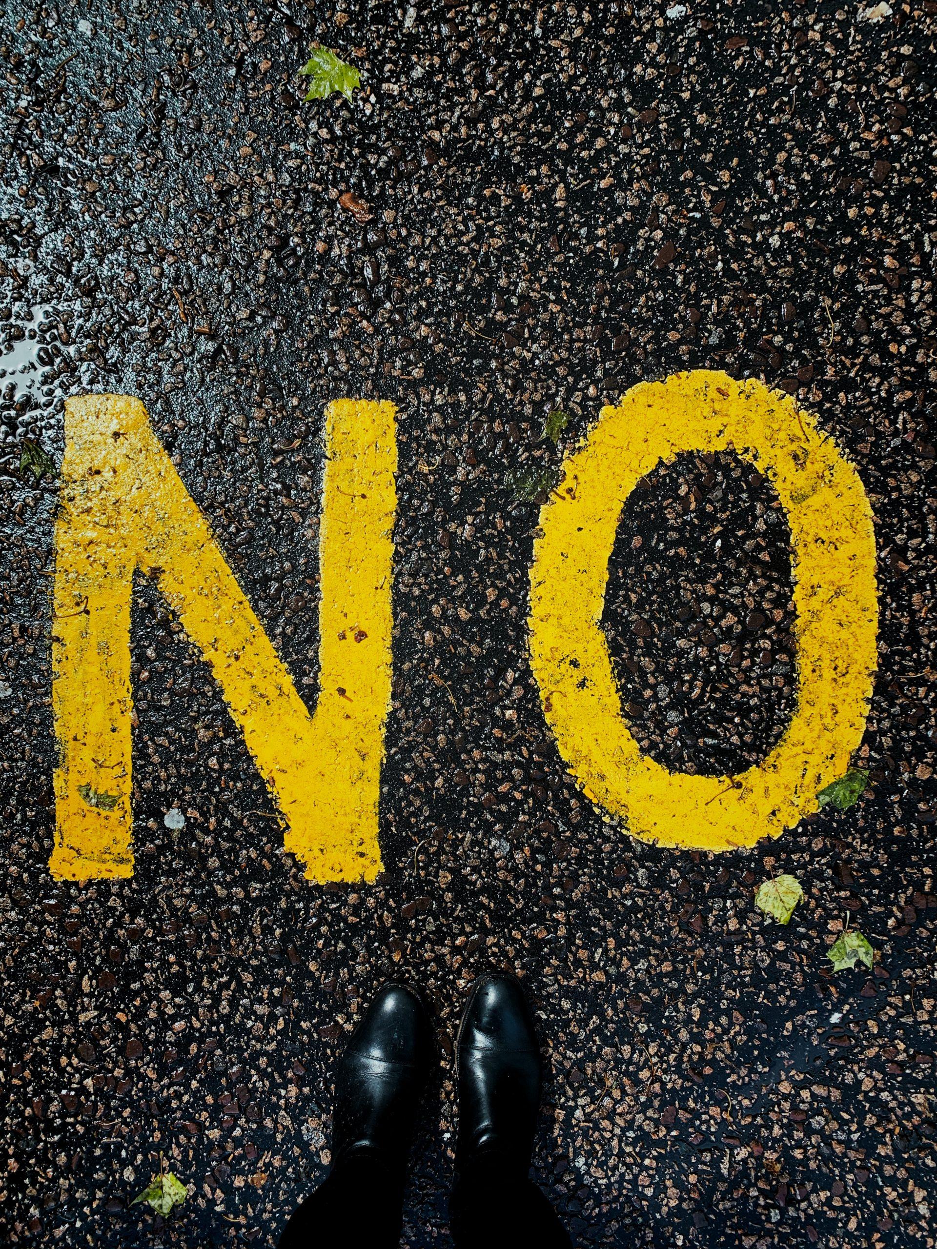 etre heureuse : savoir dire non