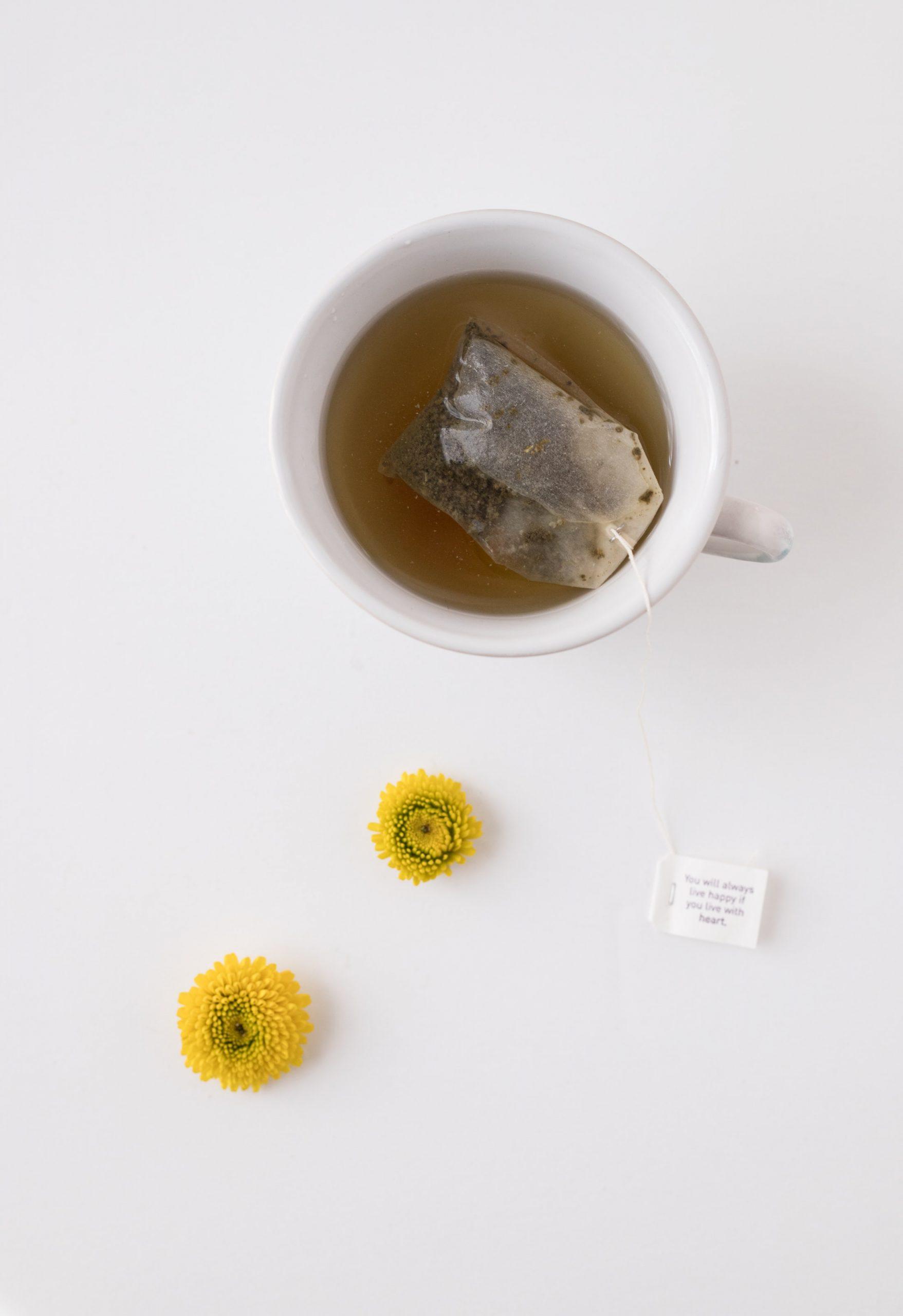 thé vert : brûleur graisse