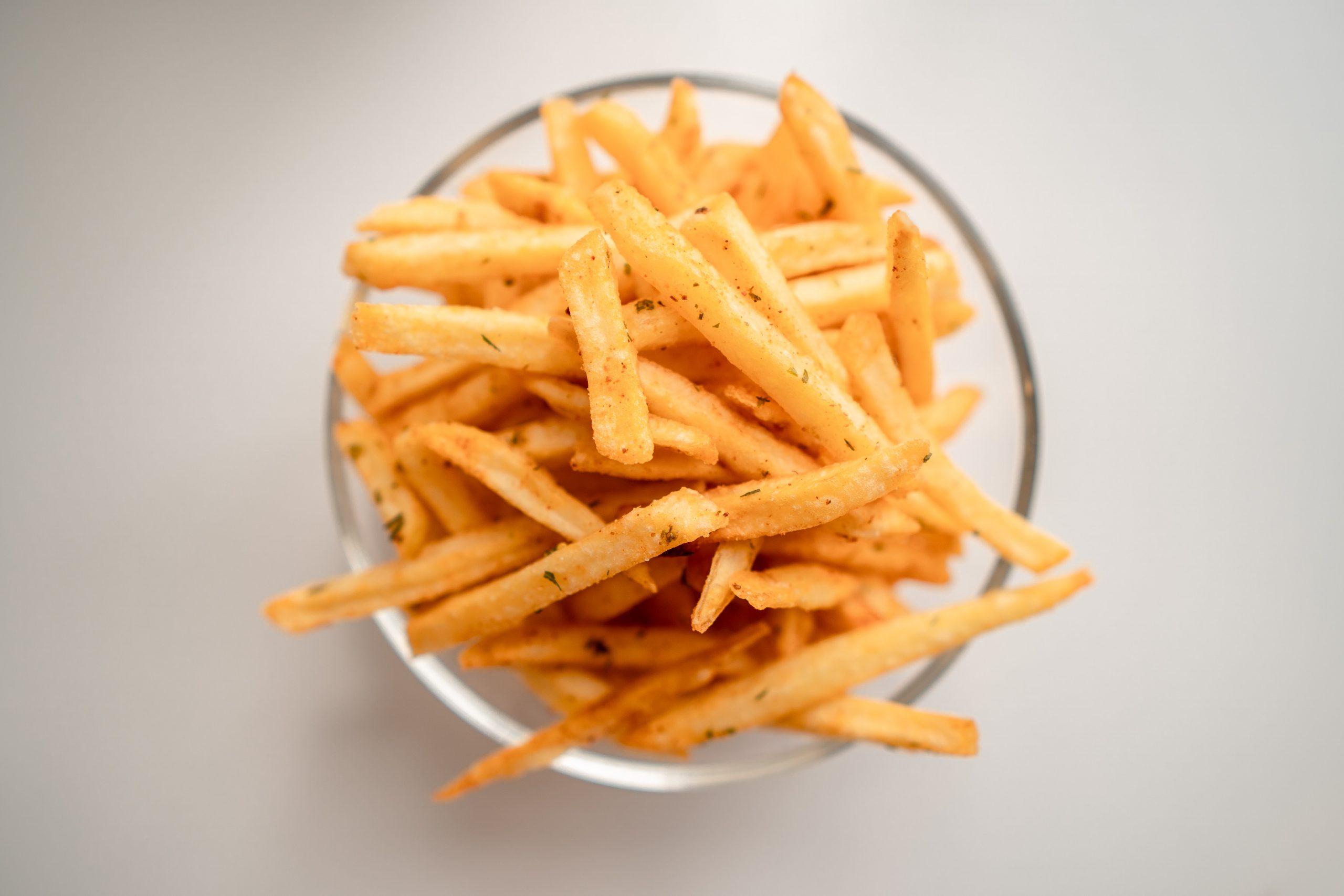 dégonfler ventre : supprimer la friture